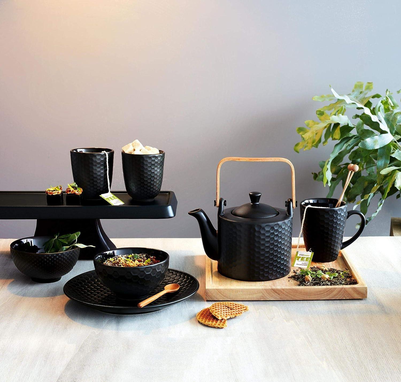 Teekanne mit Teesieb Pikee schwarz von Asa Selection 0,75 L
