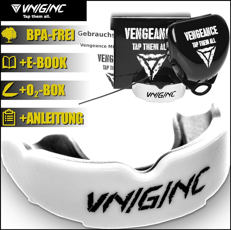 vniginc protector bucal con instrucciones de uso