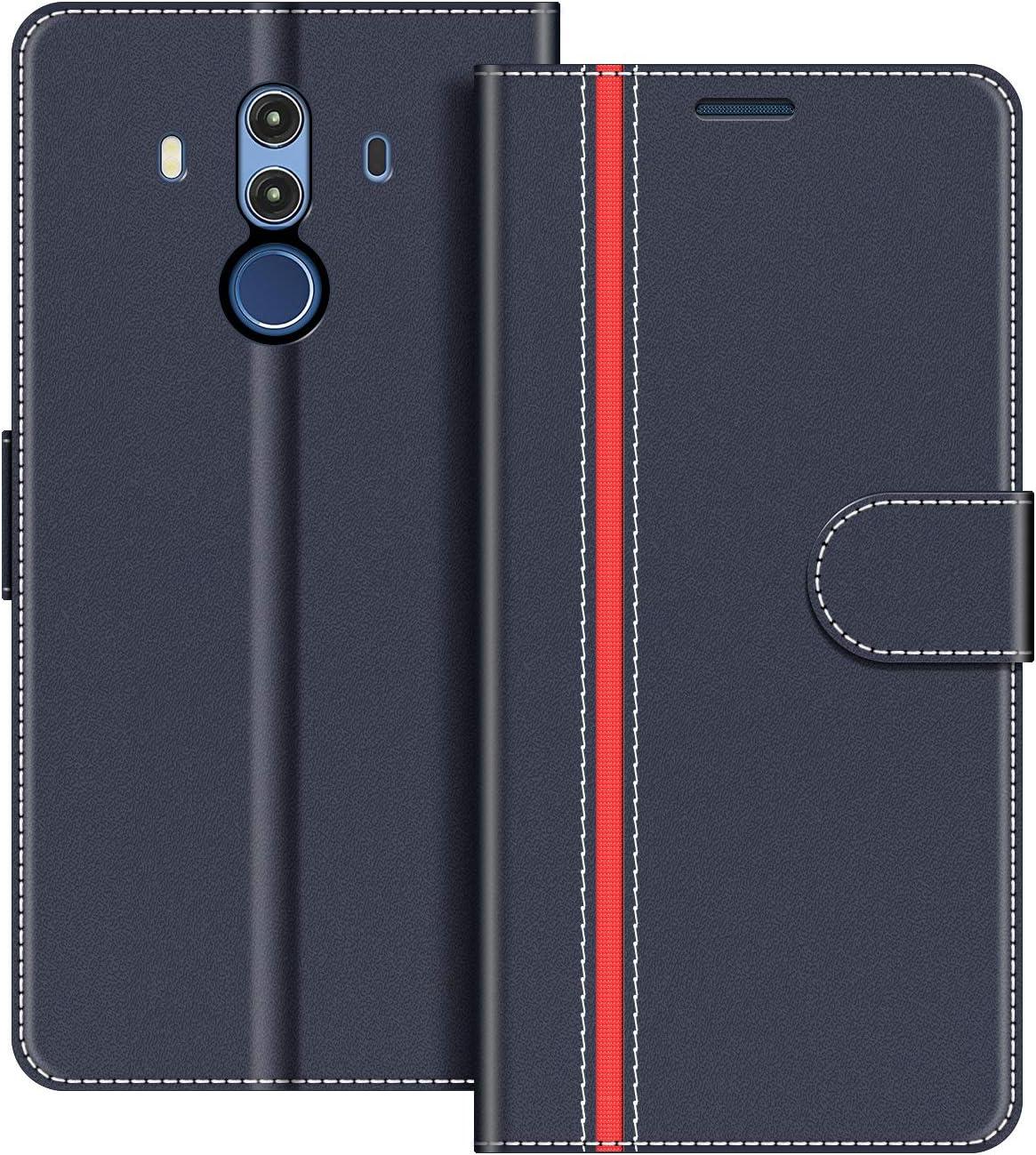 COODIO Funda Huawei Mate 10 Pro con Tapa, Funda Movil Huawei Mate ...