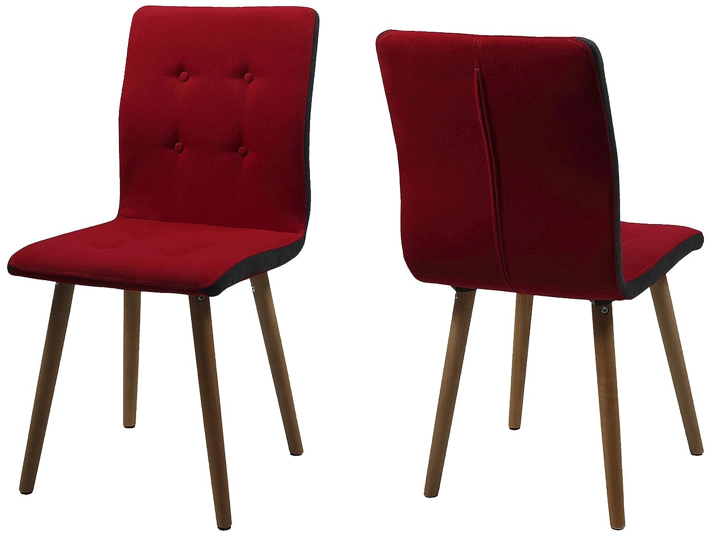AC Design Furniture H000014092 Esszimmerstuhl 2-er Set Charlotte ...