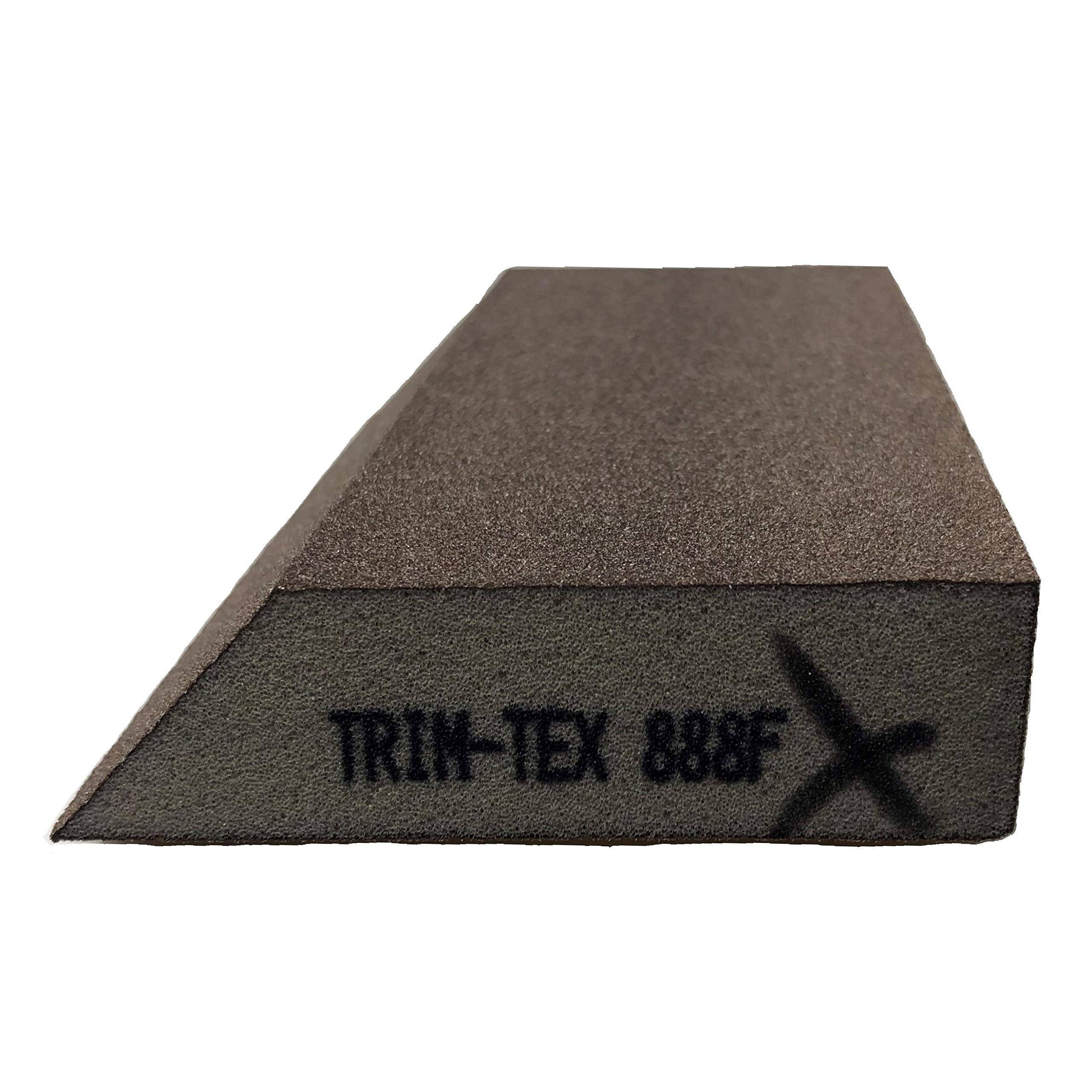 Single Angle Sanding Block Extra Fine Grit (Box of 24) by Trim-Tex