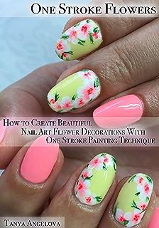 Half Stroke Nail Art Technique How To Create Half Stroke Flowers