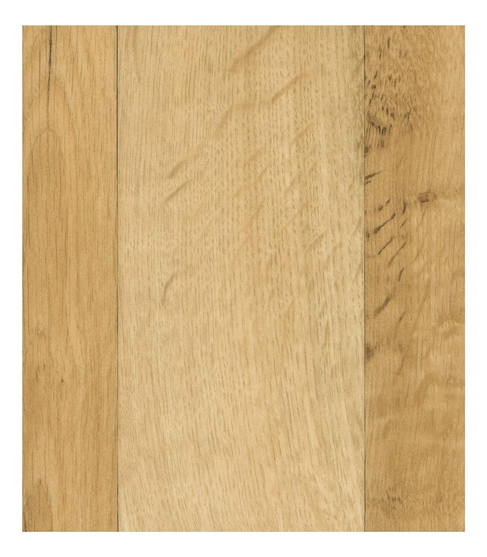 Sol PVC Best 2 x 4m imitation parquet H/être Brun Clair