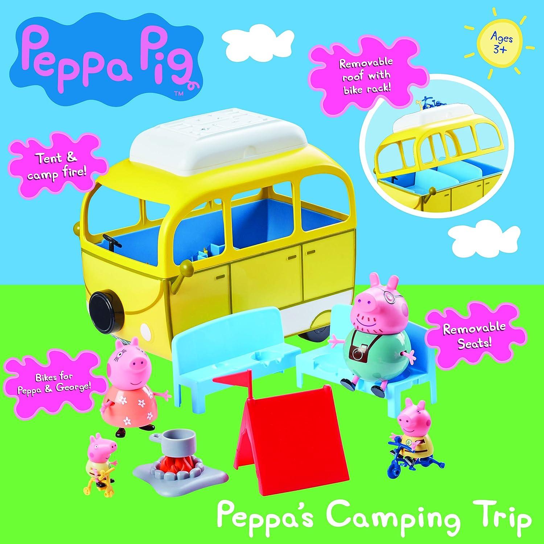 Peppa Pig 06922 6922 Juego de Viaje de Camping: Amazon.es ...