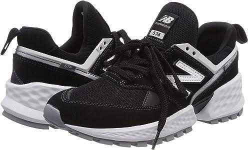 New Balance 574S v2, Zapatillas para Hombre, Negro (Black/NB White ...