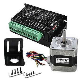 TB6600 4A controlador de motor paso a paso 9-42V CNC controlador ...