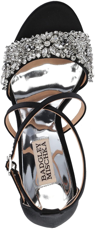 532ee657c8fa Amazon.com  Badgley Mischka Women s Sandra Heeled Sandal  Shoes