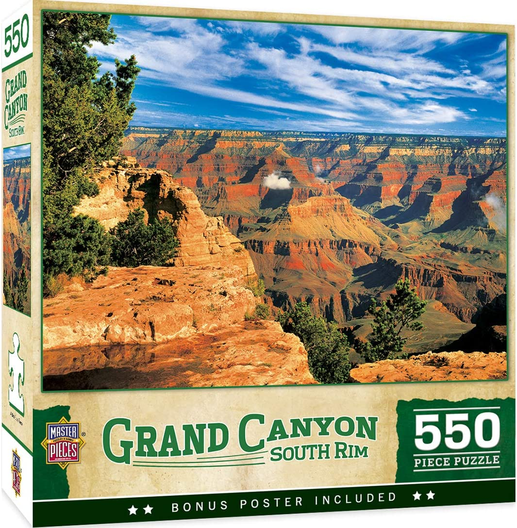 Masterpieces Grand Canyon South Rim 550 Piece Jigsaw Puzzle
