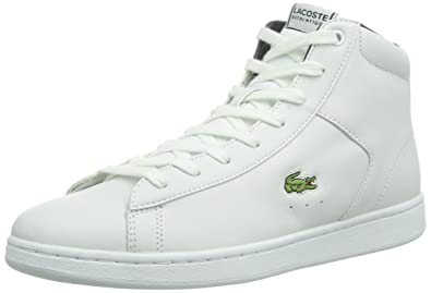 cf26f4bc3617e Lacoste Womens CARNABY EVO MID CRT High-top trainers