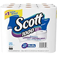 81-Count (3 x 27-Count) Scott 1000 Sheetsper Toilet Paper Rolls