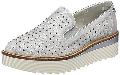 XTI Damen 47772 Slip on Sneaker, Grau (Grey), 38 EU