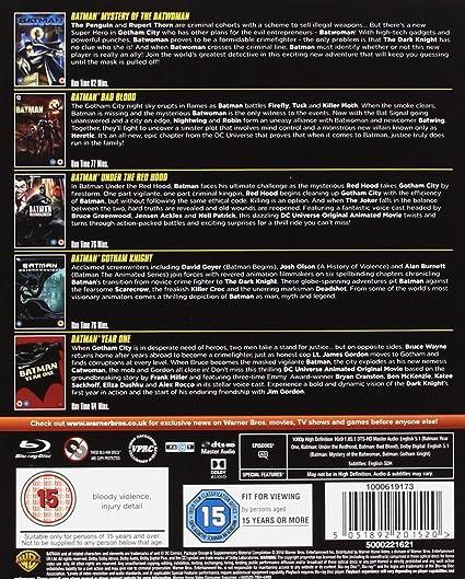 Batman: Animated Collection 5 Blu-Ray Edizione: Regno Unito Reino Unido Blu-ray: Amazon.es: Cine y Series TV