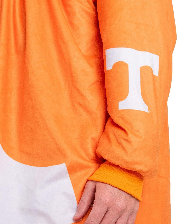 FOCO Reversible Oversized Sherpa Hoodie Sweatshirt Colorblock Hoodeez Oklahoma Sooners NCAA Reversible Colorblock Hoodeez