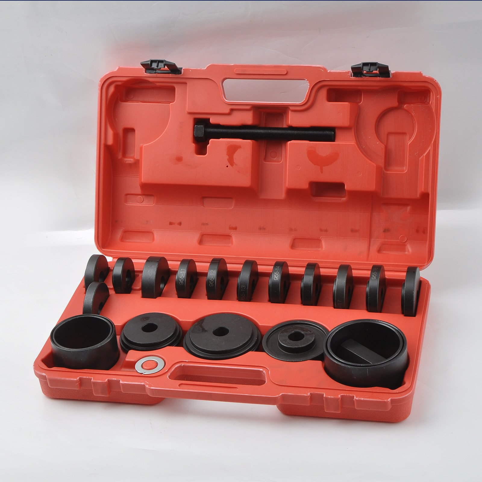 WIN.MAX 23 Pcs FWD Front Wheel Drive Bearing Adapters Puller Press Replacement Installer Removal Tool Kit by WIN.MAX (Image #2)