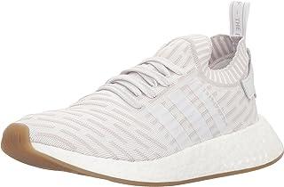 Adidas OriginalsNMD_R2 PK W - NMD_r2 PK da Donna Donna da Uomo, Bianco (White/White/Shock Pink), 38 EU