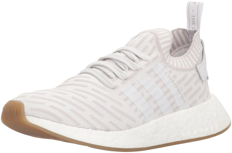 adidas Originals Women's NMD_r2 Pk W Sneaker B0775N7R91 8.5 B(M) US|White/White/Shock Pink