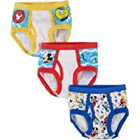 Handcraft Mickey Mouse Briefs, 3 Pack, 2T/3T