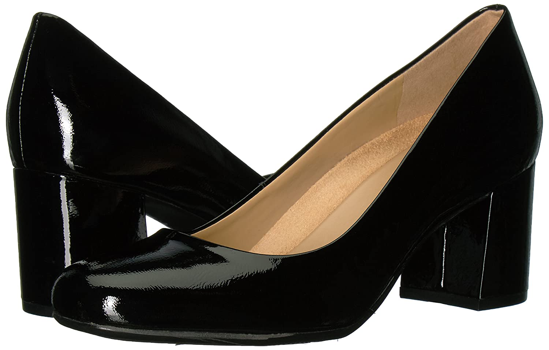 Naturalizer Women's Whitney Dress Pump, Black, 8 W US B01MY2SZ6D Parent