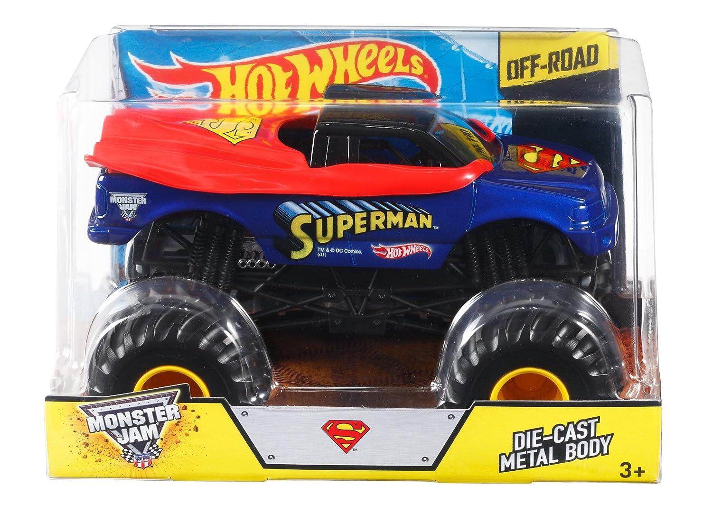 Hot Wheels CBY61 - Off-Road Monster Jam BGH34-0718 Superman