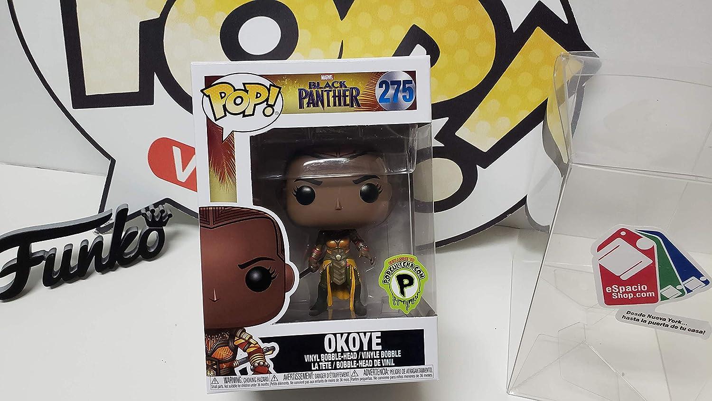 Funko Pop Marvel Black Panther Okoye Popcultcha Edition Vinyl Bobblehead Figure