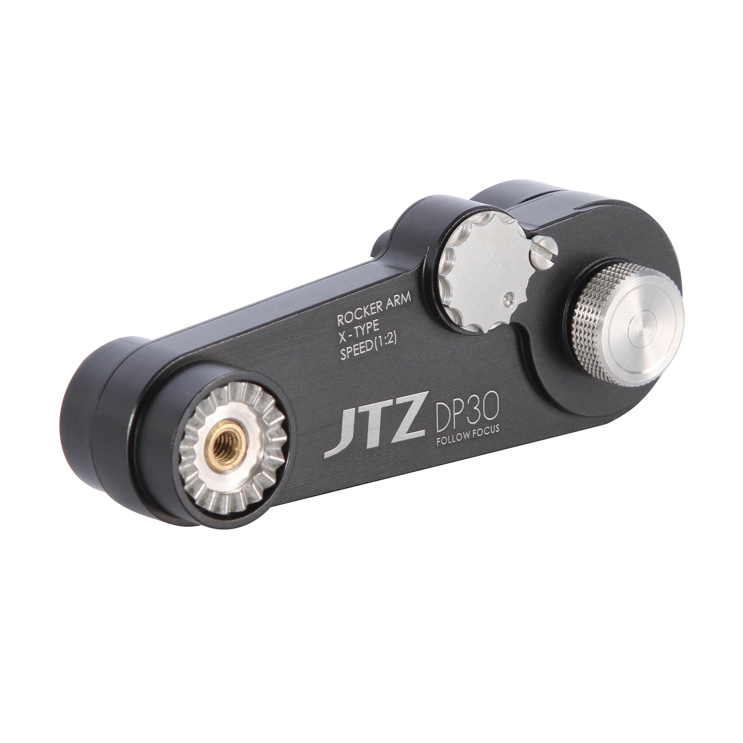 JTZ 1:2 Extension Arm for DP30 Cine Camera Follow Focus Canon C100 Sony A7 A9 Panasonic GH4 GH5 etc. by JTZ