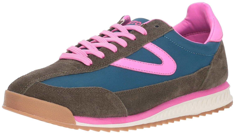 Tretorn Women's Rawlins2 Sneaker B07C94HZ8H 7 B(M) US|Dark Green