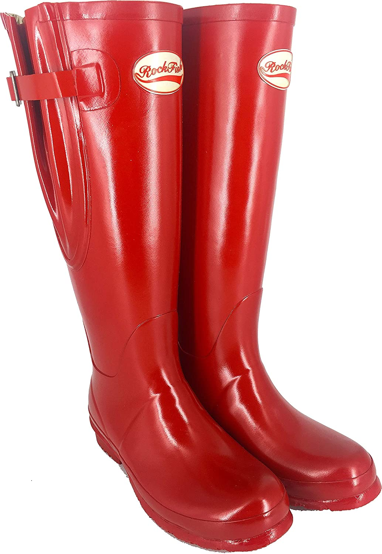 Rockfish Parent Adj Gloss (UK) Tall Wellington Boot Boot B00R38X9C8 Parent Samba Red Size 8 (UK), 御所浦町:0955946f --- m2cweb.com