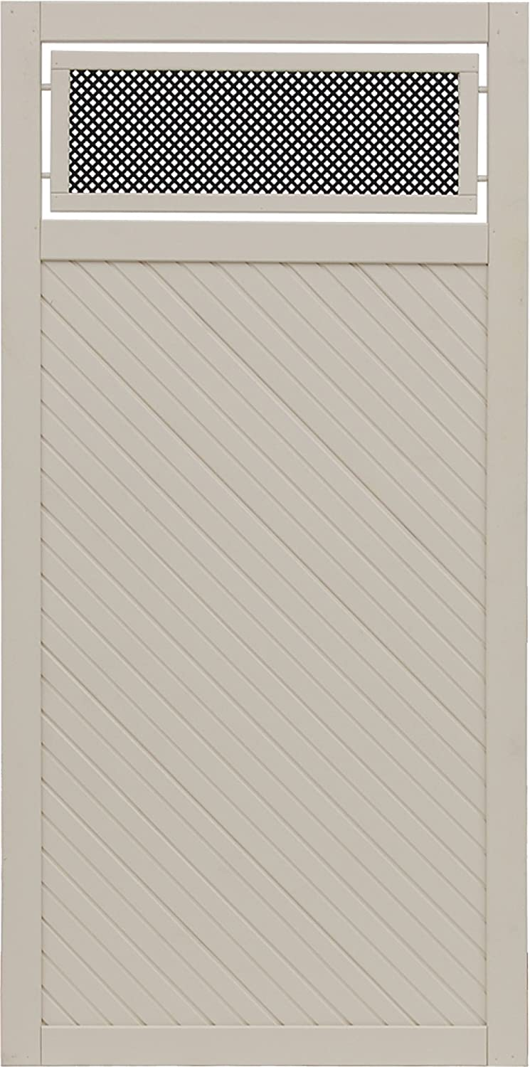 Andrewex wooden fence 180x90, varnished, latte, privacy, fencing panel
