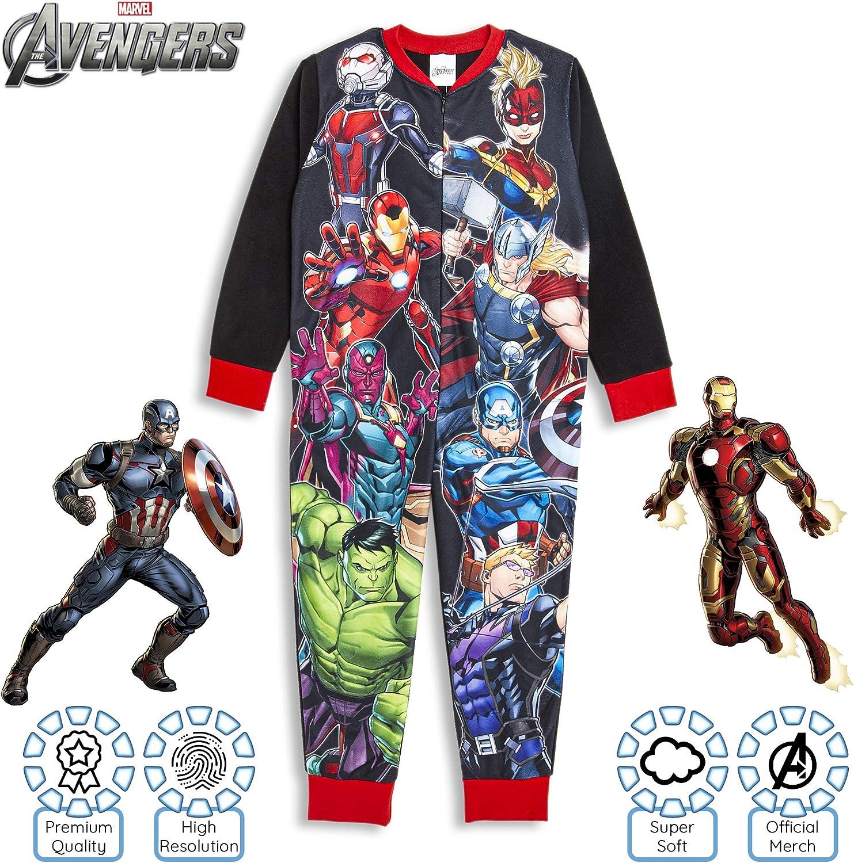 The Avengers Marvel Big Boys Pajamas 5-6 Years