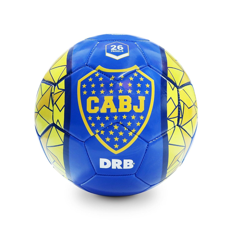 Boca Juniorsサッカーボール – サイズ4 – 公式ライセンス製品  ブルー B01GVU14E8