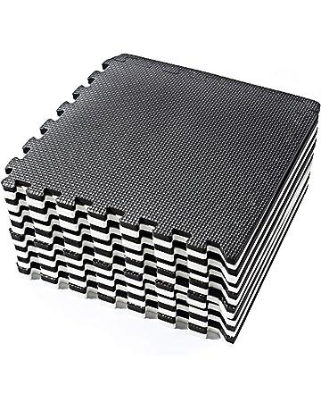 d68705a9fea Basics Hardware Tappetino Puzzle en Blanco y Negro con Tessere a Incastro  in Schiuma Eva