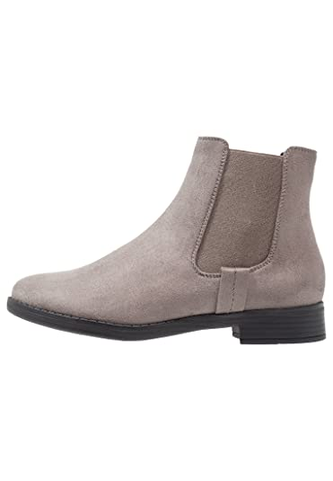 5ec95116e6b8 Even ODD Womens Chelsea Boots in Patent Black and Grey or Blue Suede ...