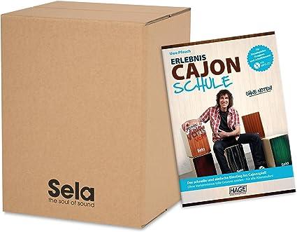Sela SE 110 Carton Cajon Starter Pack Incluye Uwe pfauchs experiencia Escuela: Amazon.es: Instrumentos musicales