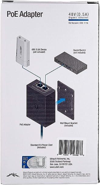 Ubiquiti Poe 48 24w G Netzwerk Router Computer Zubehör