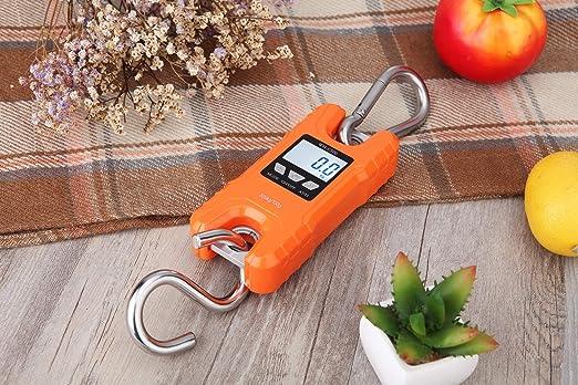 Amazon.com: Klau - Báscula digital portátil (1,102.3 lbs ...