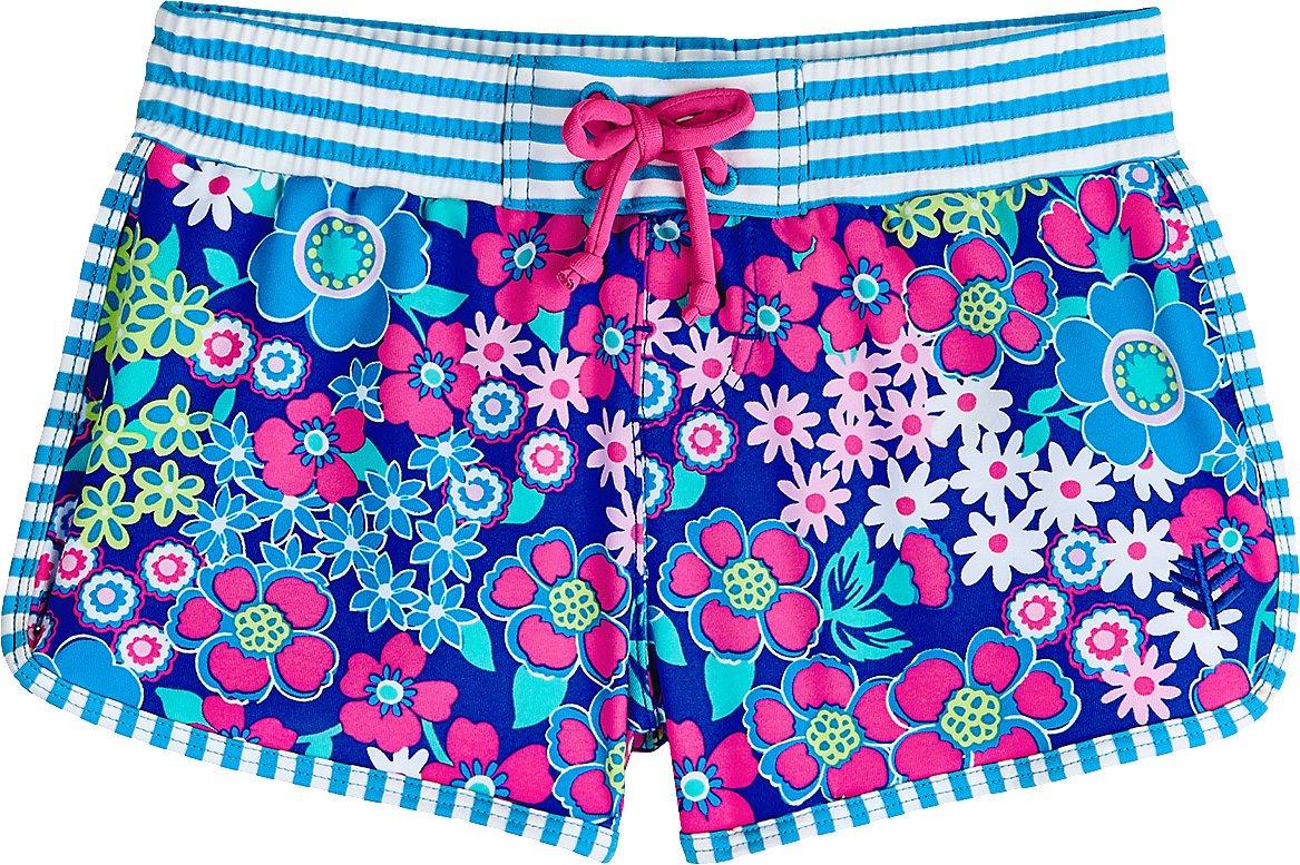 Coolibar UPF 50+ Girls' Wavecatcher Swim Shorts - Sun Protective
