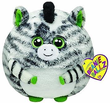 Amazon.com  Ty Beanie Ballz Oasis Zebra 5