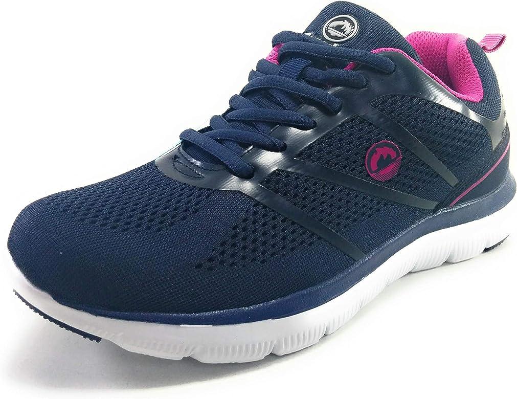 J`Hayber Zapatillas Memory Foam para Mujer (40 EU, Azul): Amazon.es: Zapatos y complementos