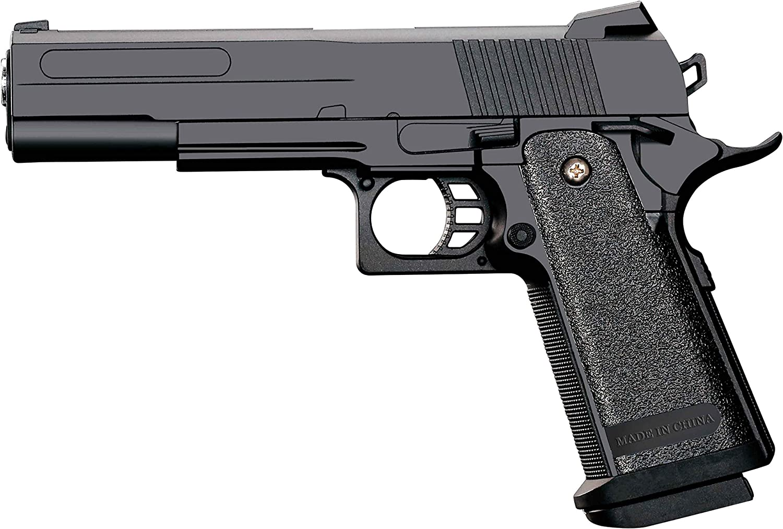 Pistola Airsoft Full Metal Rayline RV306 (presión de Resorte Manual), réplica en una Escala de 1: 1, Longitud: 23 cm, Peso: 400 g (Menos de 0,5 Julios - a Partir de 14 años)