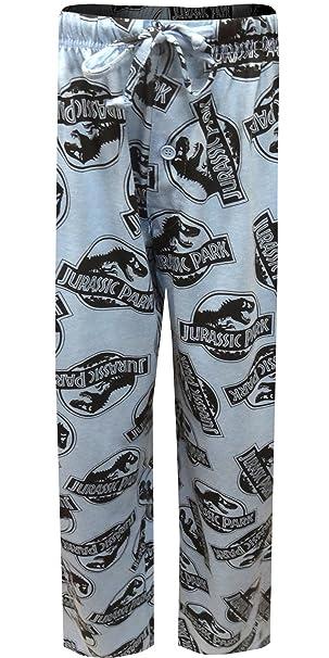 Jurassic Park Mens Knit Pajama Pants S