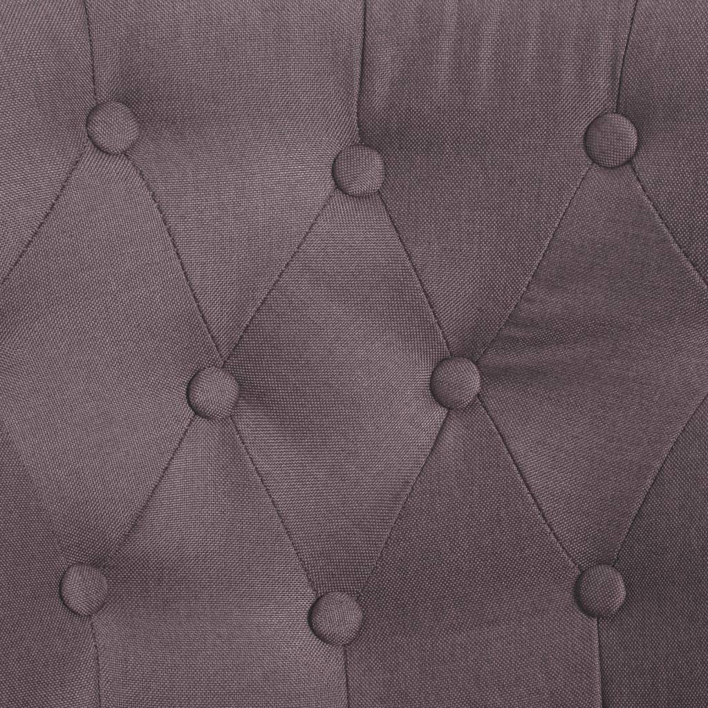vidaXL Poltrona in Stile Francese Elegante Moderna Seggiola Imbottita con Schiuma Poltrona Gambe in Legno Blu in Tessuto