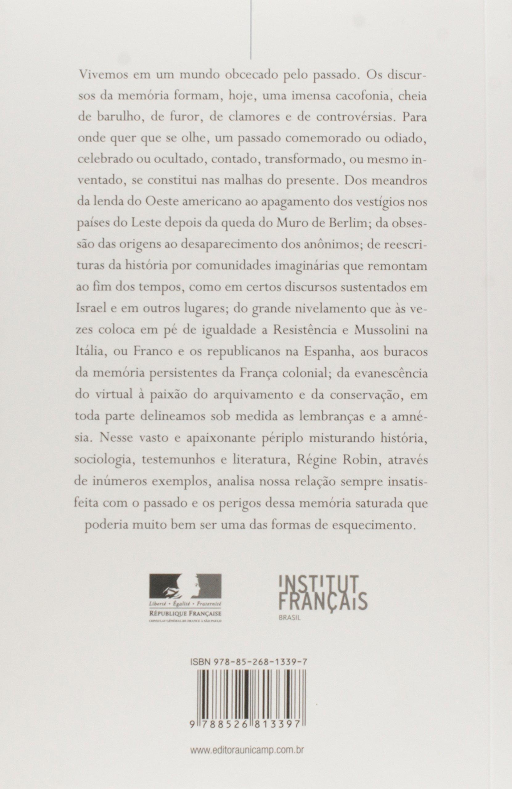 A Memória Saturada: Amazon.es: Régine Robin: Libros