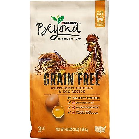 Purina Beyond Alimento para gatos seco natural, sin grano y con ...