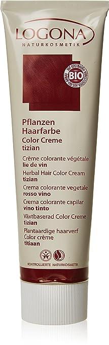 logona herbal hair color cream tizian 507 ounce - Logona Color Creme