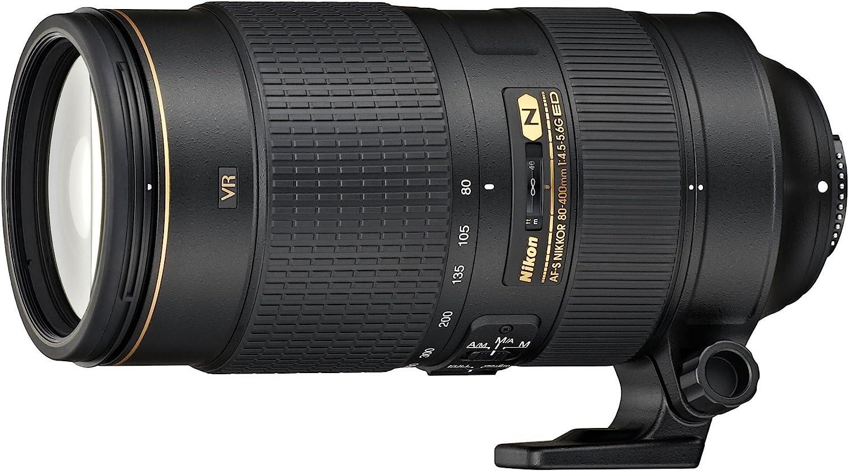 Nikon Af S Nikkor 80 400 Mm 1 4 5 5 6g Ed Vr Objektiv Kamera