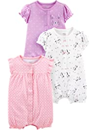 42a94ea29 Baby Girl s One Piece Rompers