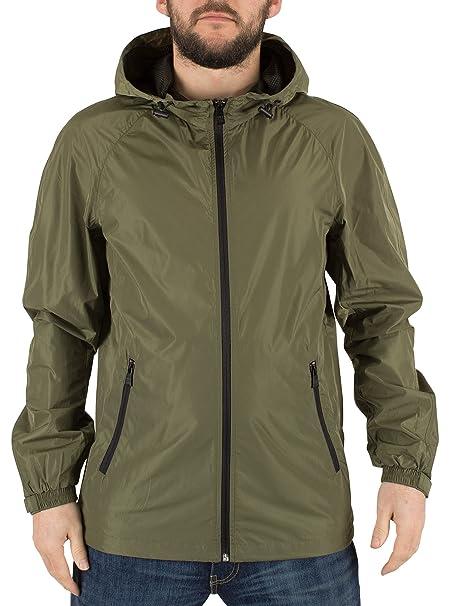 Only & Sons Hombre Navarro luz de malla de la chaqueta, Verde: Amazon.es: Ropa y accesorios