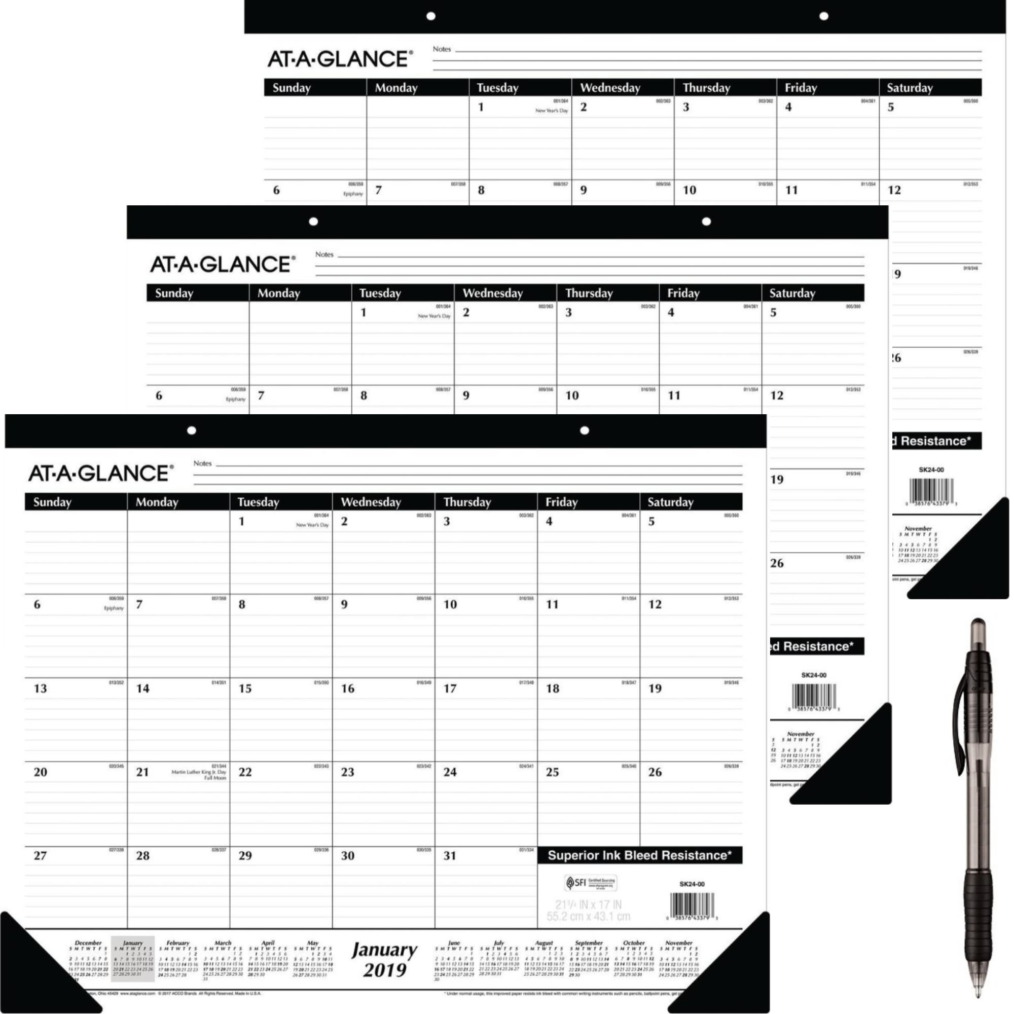 December 2019 Calendar Cust Best Rated in Desktop Calendars & Supplies & Helpful Customer