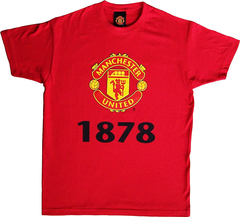 Manchester United T-Shirt Collection Officielle Taille Enfant gar/çon