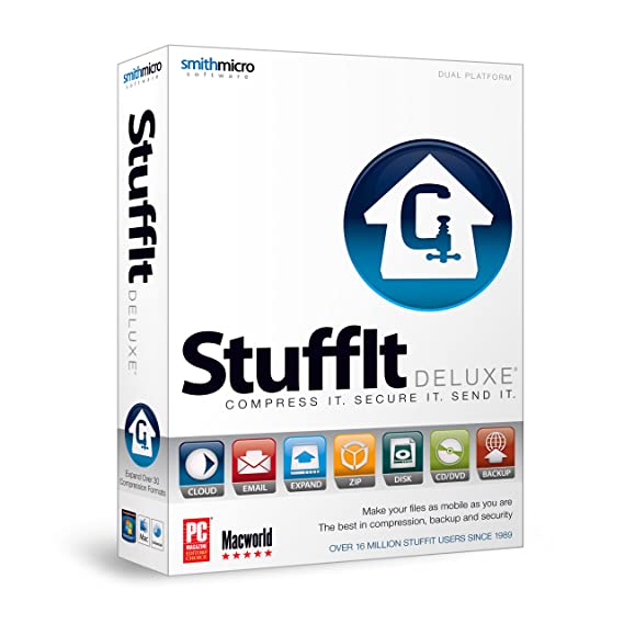 Amazon.com: StuffIt Deluxe 2011 (Hybrid)